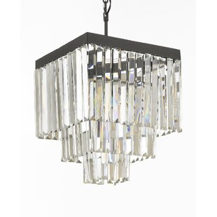 Larrison 4-Light Chandelier by Rosdorf Park