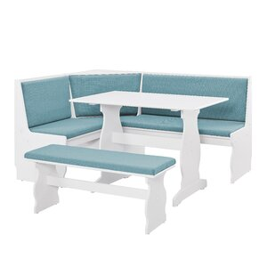 Olivia Nook Traditional 3 Piece Dining Set
