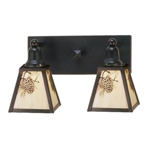 Meyda Tiffany Winter 2-Light Vanity Light