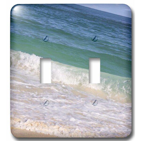3drose Dominican Republic Punta Cana Bavaro Beach 2 Gang Toggle Light Switch Wall Plate Wayfair