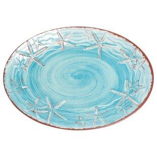 Starfish Melamine Platter