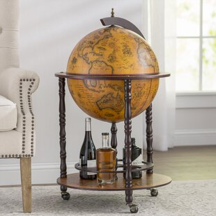 World Menagerie Globe Drinks Cabinet Floor Standard
