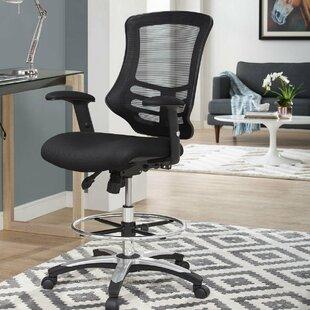 Symple Stuff La Mott Ergonomic Mesh Drafting Chair