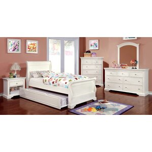 Stovall Sleigh Configurable Bedroom Set by Harriet Bee