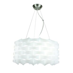 EQLight Armini 3-Light Drum Chandelier