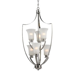 Astoria Grand Barryton 6-Light Shaded Chandelier
