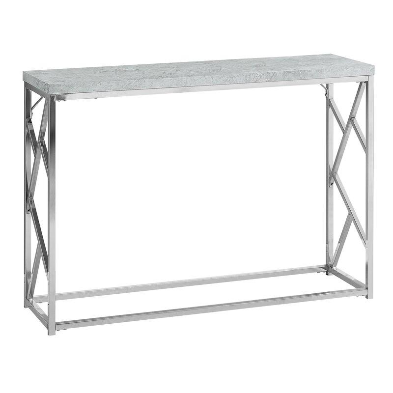 Cyrano Metal Console Table