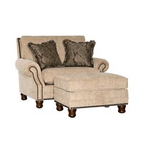 Templeton chair and a Half and Ottoman by Chelsea Home Furniture