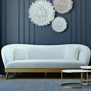 Valda Velvet Sofa by Everl..
