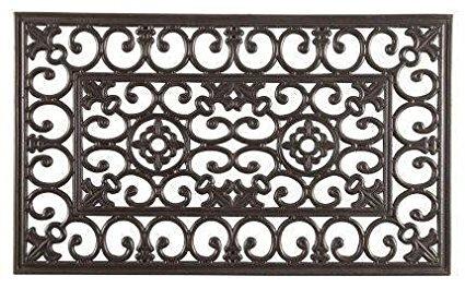 Rubber Wrought Iron Doormat