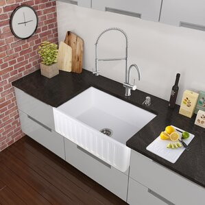 VIGO Dresden Pull-Down Spray Kitchen Faucet