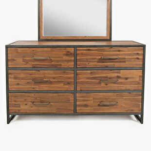 Aceves Transitional 6 Drawer Dresser by Gracie Oaks