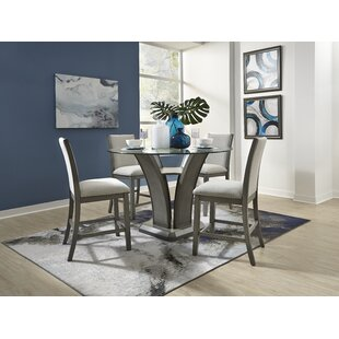 Zayden 5 Piece Pub Table Set
