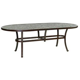 Leona Casolino Vintage Aluminum Dining Table
