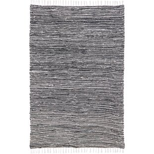 Shop Bruges Flatweave Chenille Black/White Area Rug By Bungalow Rose