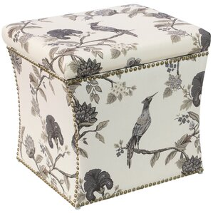 Triplehorn Ink Nail Button Storage Ottoman by Darby Home Co