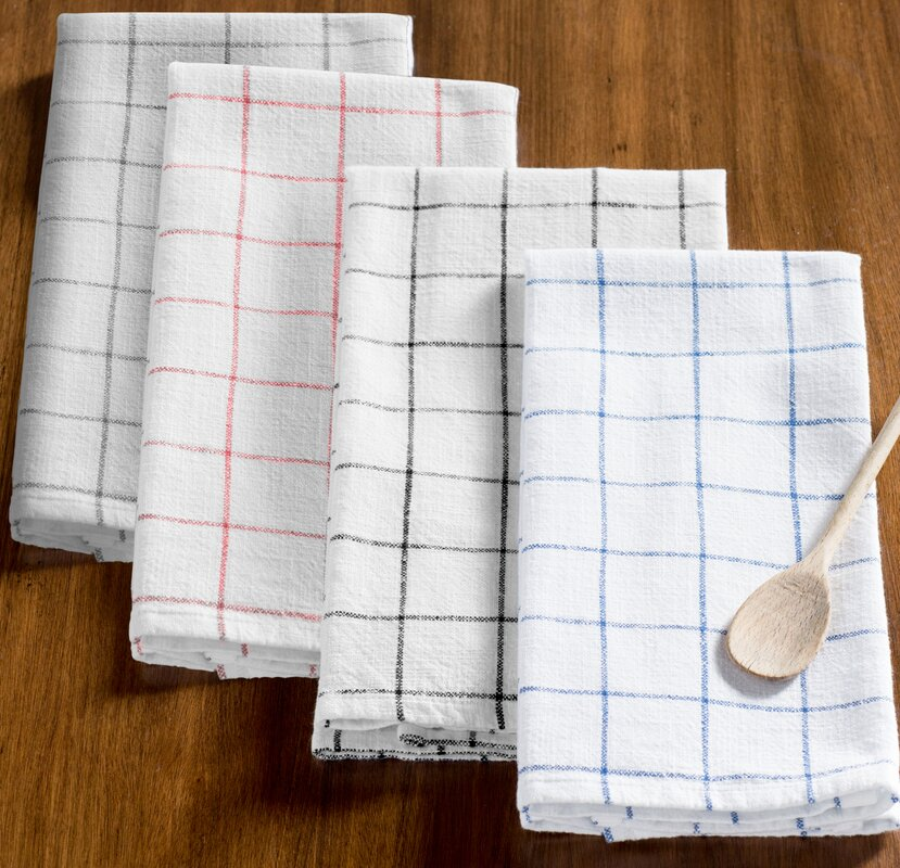Good Zinia Grid Kitchen Hand Towel