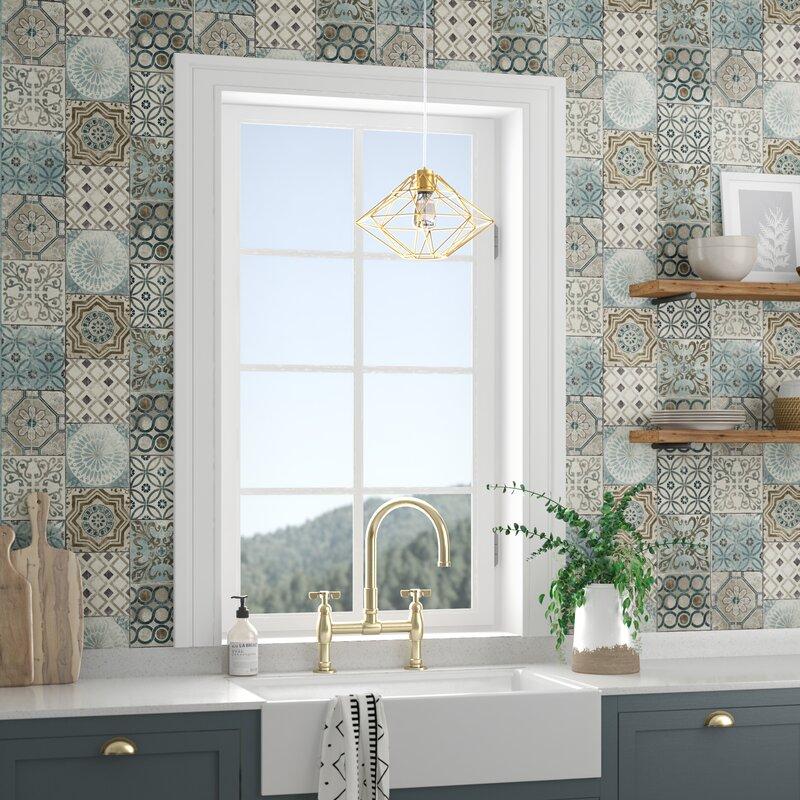 Bungalow Rose Cormier Moroccan Tile 18