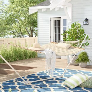 Amaryllis Quilted Hammock with Stand by Sol 72 Outdoor