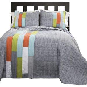 ramsey stripe quilt set