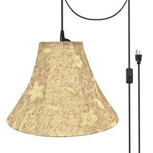 Gia 1-Light Bell Pendant b..