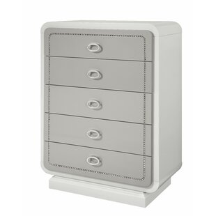 Guion 5 Drawer Chest by Everly Quinn