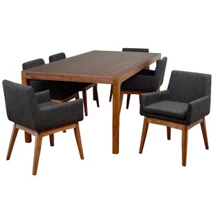 Perla 7 Piece Dining Set Corrigan Studio