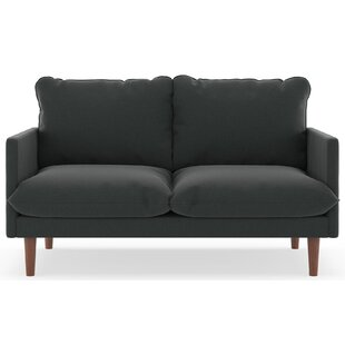 Affordable Price Rockefeller Cross Weave Loveseat by Brayden Studio Reviews (2019) & Buyer's Guide
