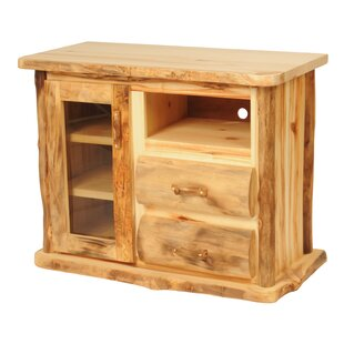 Aspen Heirloom TV Stand for TVs up to 43 by Mountain Woods Furniture
