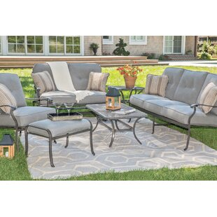 Madison Deep Seating Sunbrella Seating Group with Sunbrella Cushions by Agio