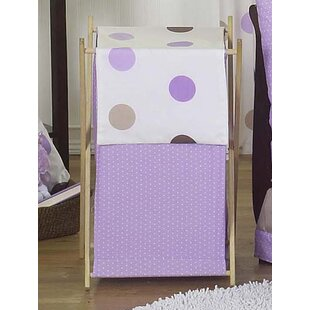 Sweet Jojo Designs Mod Dots Laundry Hamper