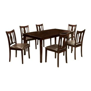 Kruse 7 Piece Dining Set by Alcott Hill