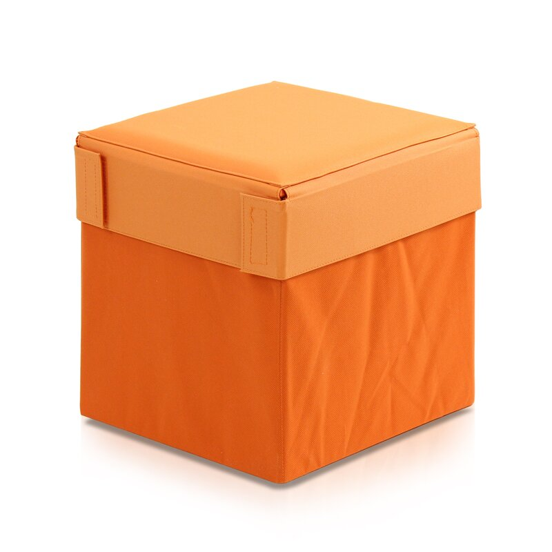 Oxford Multipurpose Foldable Storage Stool Ottoman