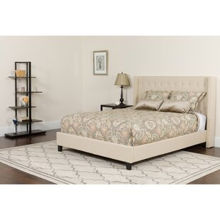 Konieczny Tufted Upholstered Platform Bed with Mattress