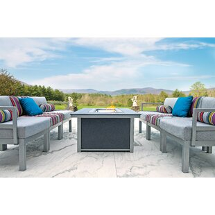 Ashbee 7 Piece Dining Set with Cushion