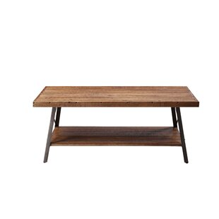 Desai Coffee Table with Tray Top by Gracie Oaks
