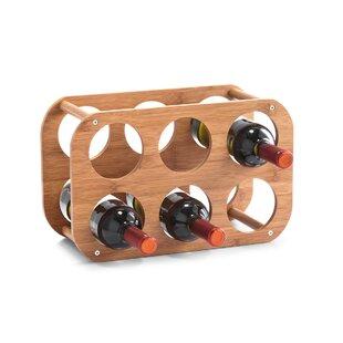 6 Bottle Wine Rack By Zeller