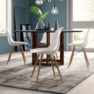 Dejohn Dining Chair (Set Of 4) by Mercury Row Great Reviews