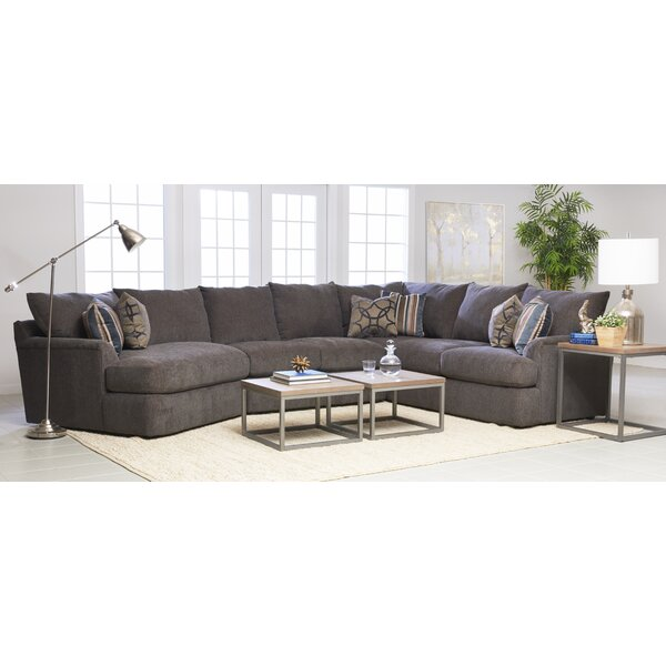 Small Cuddle Sectional | Wayfair