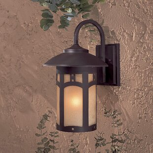Great Outdoors by Minka Harveston Manor 1-Light Outdoor Wall Lantern