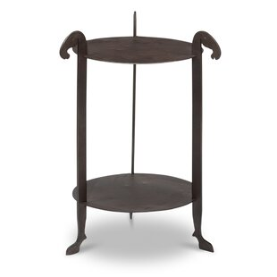 Cowley Forged Horse Leg End Table