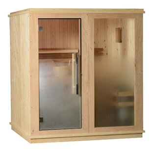 Rainelle Cedar 4 Person Traditional Steam Sauna By Almost Heaven Saunas LLC