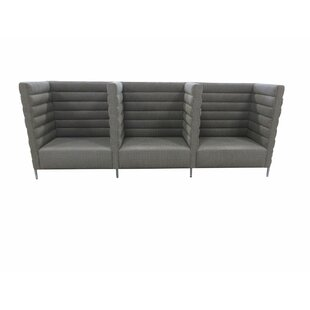 Horizontal Channel Banquette Upholstered Bench