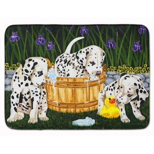 Pass the Soap Dalmatian Memory Foam Bath Rug