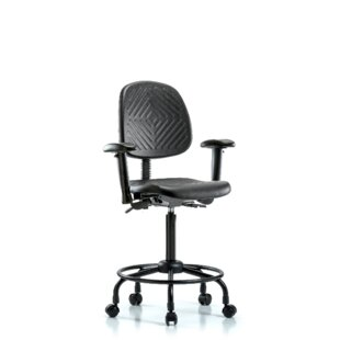 Price Check Huxley Drafting Chair by Symple Stuff