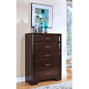Dunleavy 5 Drawer Chest