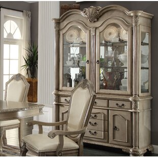 Eilers Lighted China Cabinet by Astoria Grand