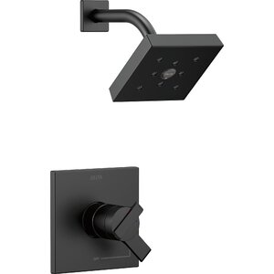 17 Series Pressure Balance Shower Faucet Trim with Monitor