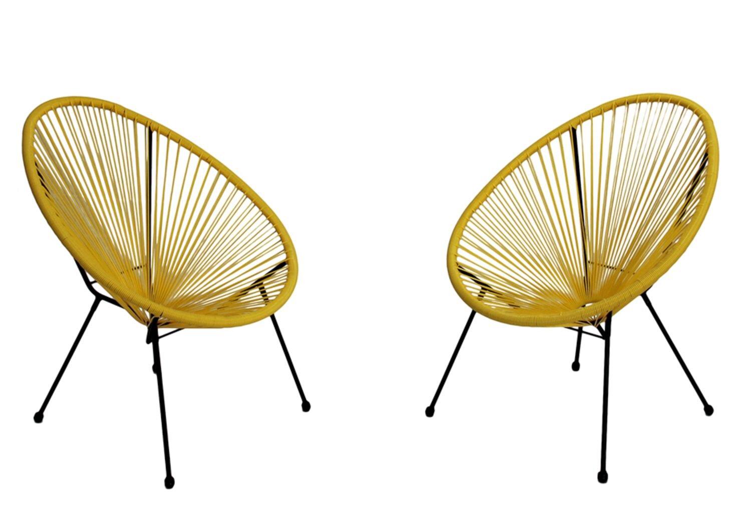 Papasan Yellow Accent Chairs You Ll Love In 2021 Wayfair