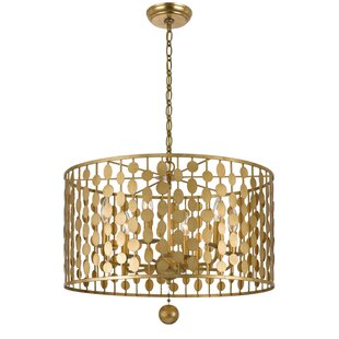 Order Charlesworth 6-Light Chandelier By Willa Arlo Interiors